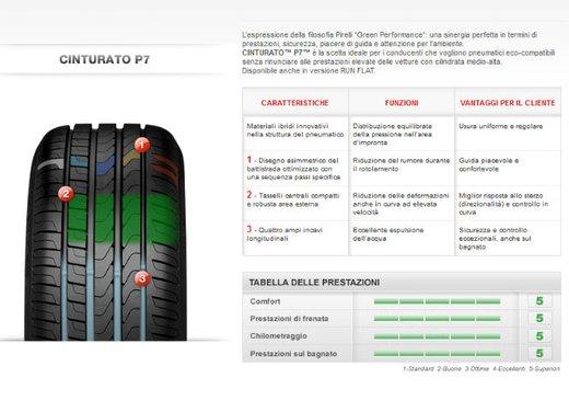 Pirelli Cinturato P7 sulla Volkswagen Golf 7 - Foto 4 di 8