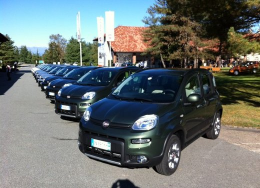 Fiat Panda 4×4, le dotazioni di serie dell'allestimento base - Foto 33 di 34