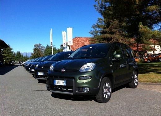 Fiat Panda 4×4, le dotazioni di serie dell'allestimento base - Foto 2 di 34