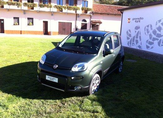 Fiat Panda 4×4, le dotazioni di serie dell'allestimento base - Foto 31 di 34