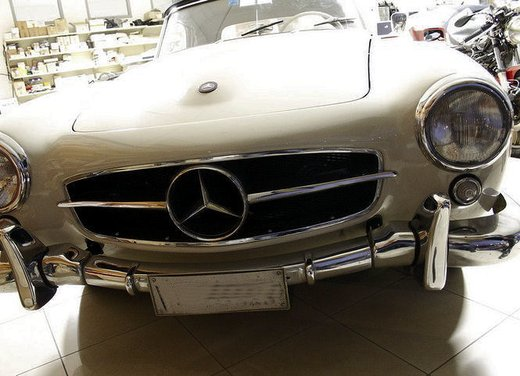 Mercedes 190 SL del 1956 restaurata