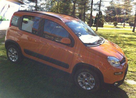 Prova su strada della nuova Fiat Panda Trekking - Foto 5 di 38