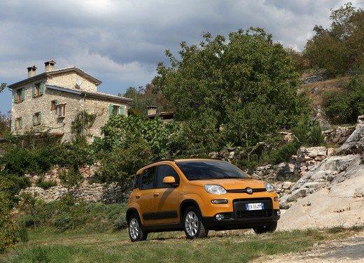 Prova su strada della nuova Fiat Panda Trekking - Foto 27 di 38