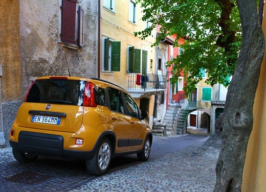 Prova su strada della nuova Fiat Panda Trekking - Foto 35 di 38