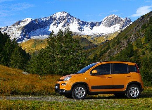 Prova su strada della nuova Fiat Panda Trekking - Foto 17 di 38
