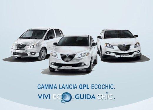 Gamma Lancia EcoChic al prezzo del benzina