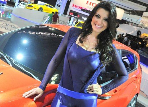 Tutte le ragazze più belle del Salone di Sao Paulo del Brasile 2012 - Foto 1 di 19