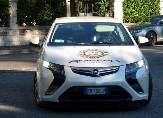 Opel Ampera, long test drive della berlina elettrica ad autonomia estesa - Foto 22 di 29