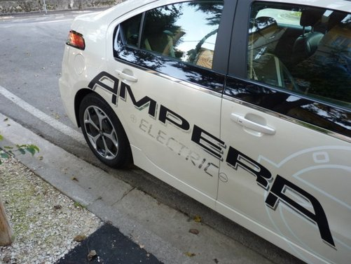 Opel Ampera, long test drive della berlina elettrica ad autonomia estesa - Foto 25 di 29