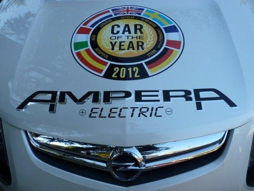 Opel Ampera, long test drive della berlina elettrica ad autonomia estesa - Foto 27 di 29