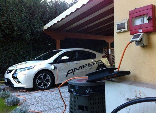 Opel Ampera, long test drive della berlina elettrica ad autonomia estesa - Foto 4 di 29