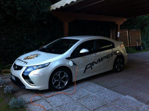 Opel Ampera, long test drive della berlina elettrica ad autonomia estesa - Foto 6 di 29