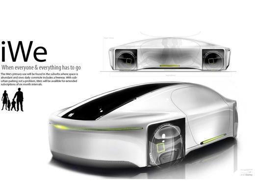 Tre veicoli elettrici, il nuovo progetto di car sharing di Apple - Foto 12 di 18