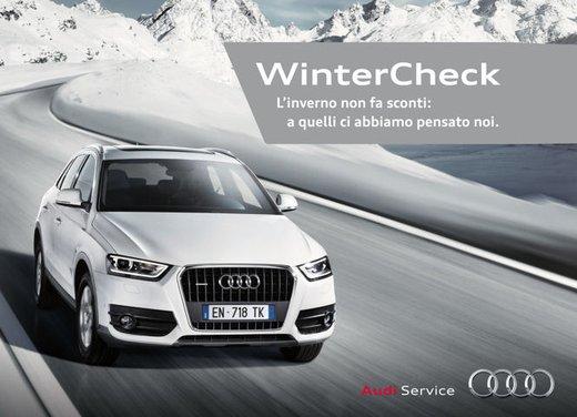 Massima sicurezza con gli pneumatici invernali e 24 controlli proposti con Audi Winter Check