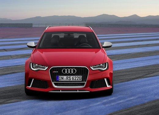 Nuova Audi Audi RS6 Avant, la sorella sportiva della Audi A6