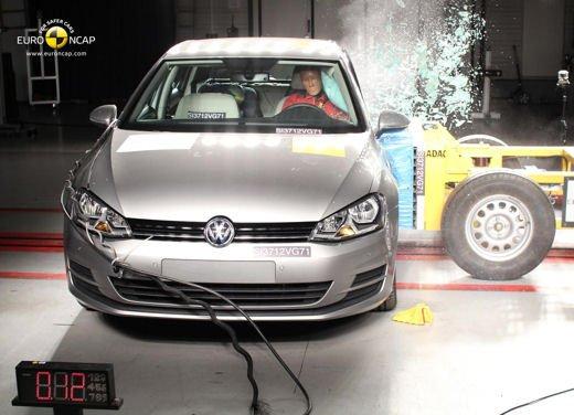 Crash-test EuroNCAP: 5 stelle per i modelli di fascia alta e 4 stelle per utilitarie e citycar - Foto 3 di 6