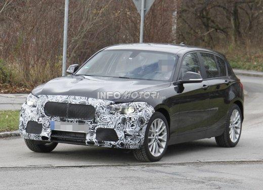 BMW Serie 1 prime foto spia del restyling - Foto 2 di 7