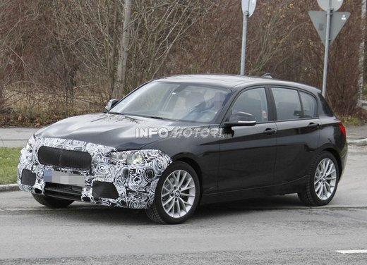 BMW Serie 1 prime foto spia del restyling - Foto 3 di 7
