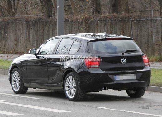 BMW Serie 1 prime foto spia del restyling - Foto 7 di 7