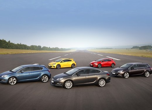 Opel Mokka, Opel Adam e Opel Zafira le auto pluripremiate della gamma Opel
