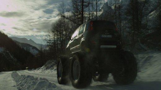 Fiat Panda 4×4 test drive sulla neve in occasione di Fiat Winter Fun - Foto 11 di 34
