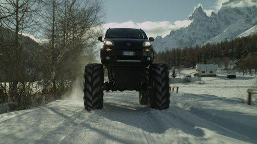Fiat Panda 4×4 test drive sulla neve in occasione di Fiat Winter Fun - Foto 12 di 34