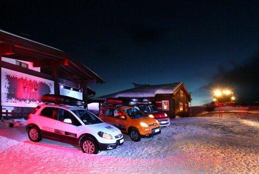 Fiat Panda 4×4 test drive sulla neve in occasione di Fiat Winter Fun - Foto 6 di 34