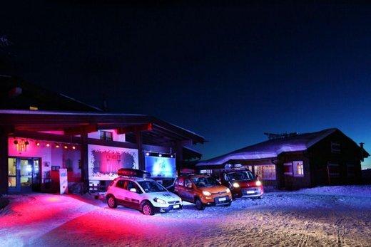 Fiat Panda 4×4 test drive sulla neve in occasione di Fiat Winter Fun - Foto 14 di 34