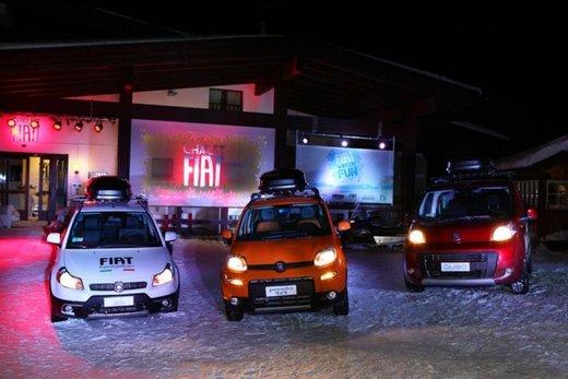 Fiat Panda 4×4 test drive sulla neve in occasione di Fiat Winter Fun - Foto 7 di 34