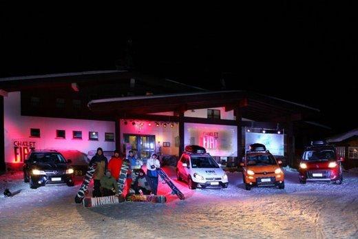 Fiat Panda 4×4 test drive sulla neve in occasione di Fiat Winter Fun - Foto 15 di 34