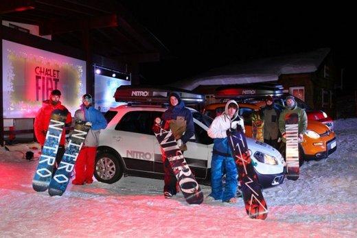 Fiat Panda 4×4 test drive sulla neve in occasione di Fiat Winter Fun - Foto 16 di 34