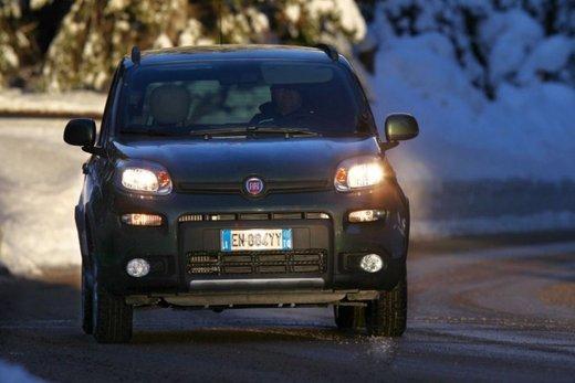 Fiat Panda 4×4 test drive sulla neve in occasione di Fiat Winter Fun - Foto 3 di 34