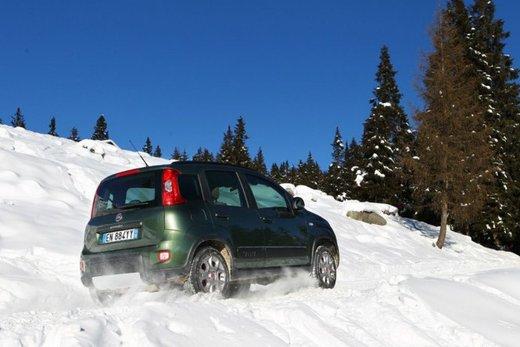 Fiat Panda 4×4 test drive sulla neve in occasione di Fiat Winter Fun - Foto 19 di 34