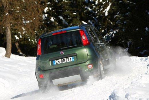 Fiat Panda 4×4 test drive sulla neve in occasione di Fiat Winter Fun - Foto 20 di 34