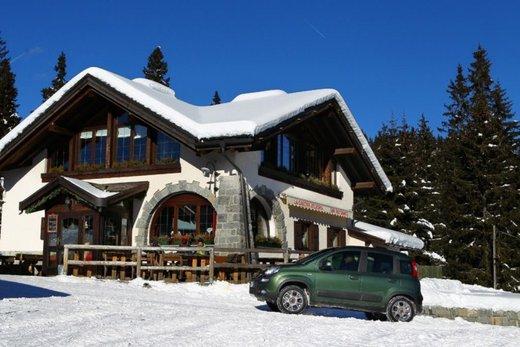 Fiat Panda 4×4 test drive sulla neve in occasione di Fiat Winter Fun - Foto 23 di 34