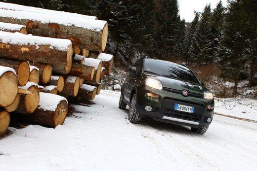 Fiat Panda 4×4 test drive sulla neve in occasione di Fiat Winter Fun - Foto 27 di 34