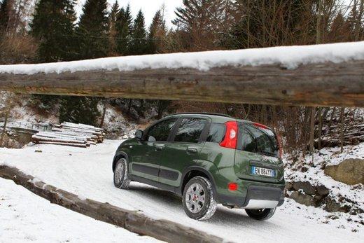 Fiat Panda 4×4 test drive sulla neve in occasione di Fiat Winter Fun - Foto 29 di 34
