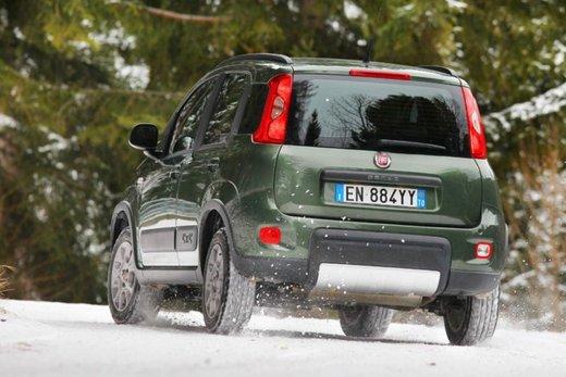 Fiat Panda 4×4 test drive sulla neve in occasione di Fiat Winter Fun - Foto 30 di 34