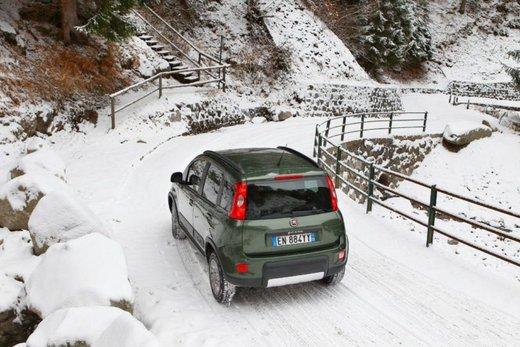 Fiat Panda 4×4 test drive sulla neve in occasione di Fiat Winter Fun - Foto 31 di 34