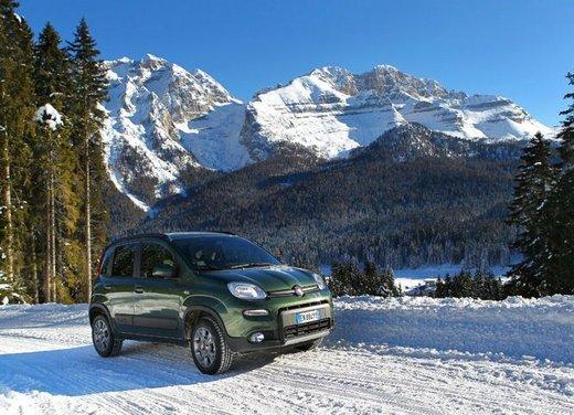 Fiat Panda 4×4 test drive sulla neve in occasione di Fiat Winter Fun - Foto 34 di 34