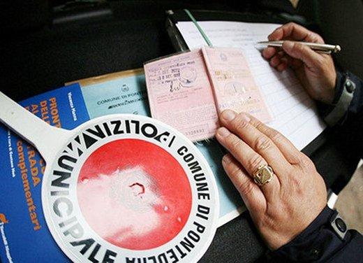 Aumento delle multe da gennaio 2013