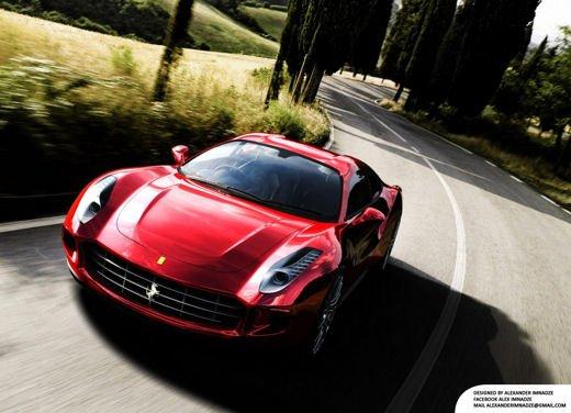 Ferrari Quattroporte Design Concept
