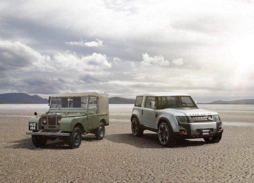 DC100 Concept, il nuovo Land Rover Defender cambia pelle
