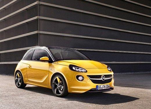 Listino prezzi Opel con Adam, Corsa, Zafira e Mokka a partire da 9.950 euro