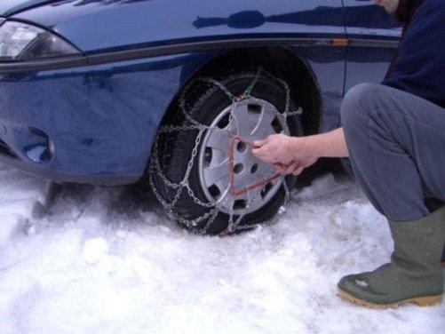 Obbligo di catene e pneumatici invernali: le strade del Lazio interessate