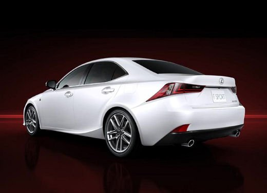 Lexus IS F Sport - Foto 6 di 6