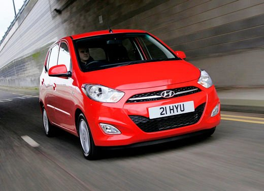 Hyundai i10 Sound Edition in promozione al prezzo di 8.950 euro a gennaio 2013