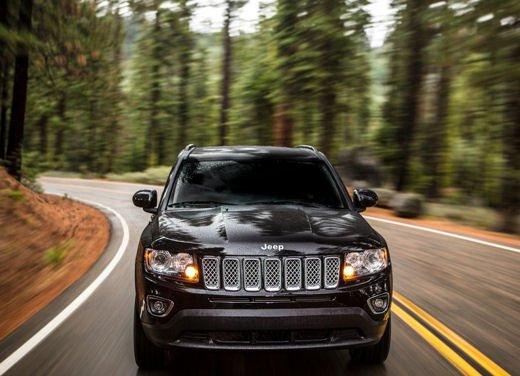 Jeep Compass con nuovo motore 2.0 litri benzina