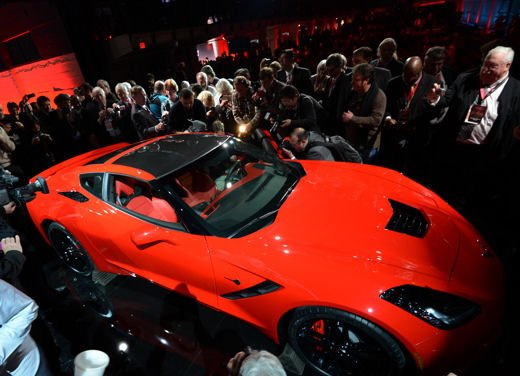 Nuova Corvette C7 Stingray - Foto 3 di 17
