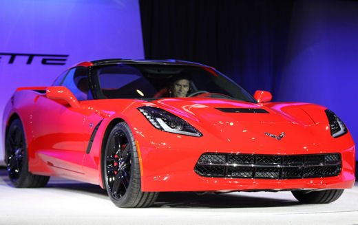 Nuova Corvette C7 Stingray - Foto 12 di 17